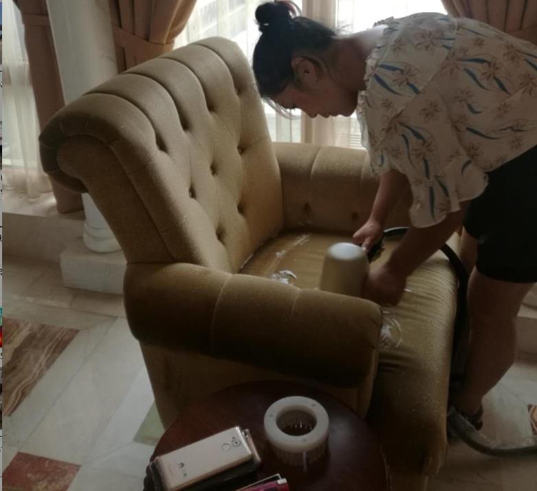 沙发清洗业务